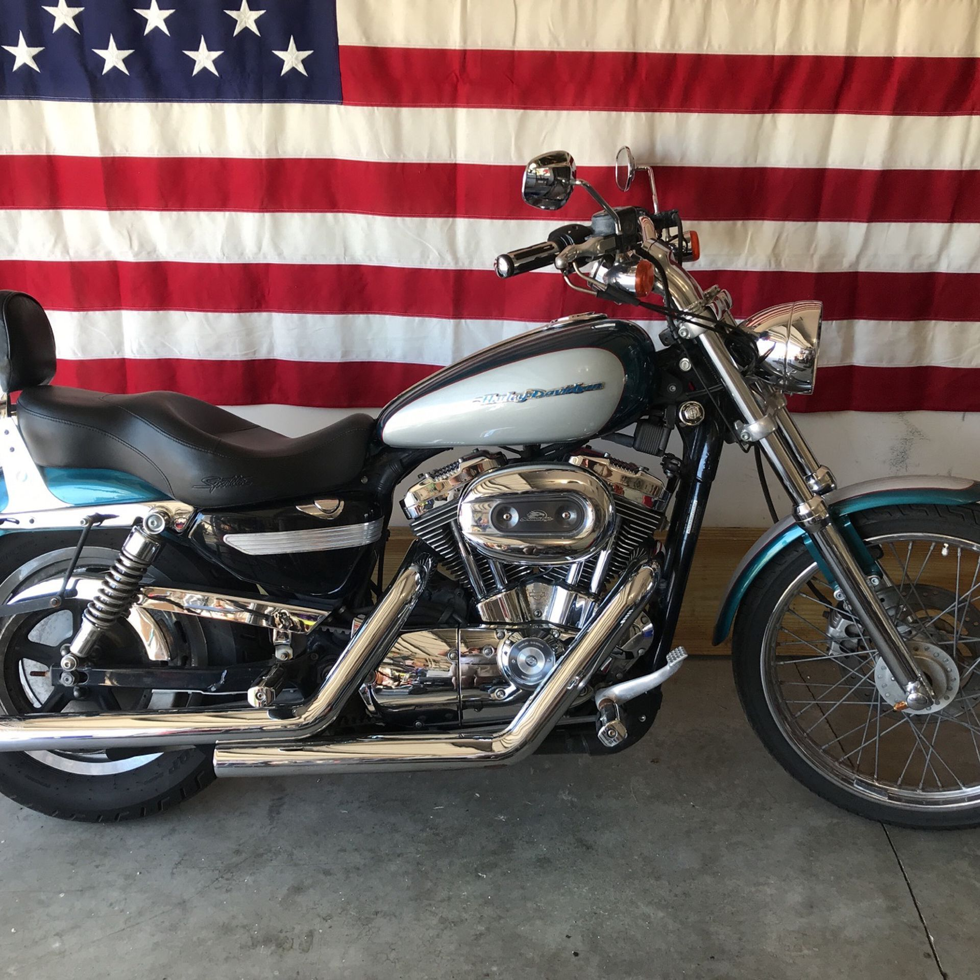 Photo Harley Davidson 2004 Sportster 1200 Custom