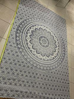 Gray & White Tapestry Thumbnail