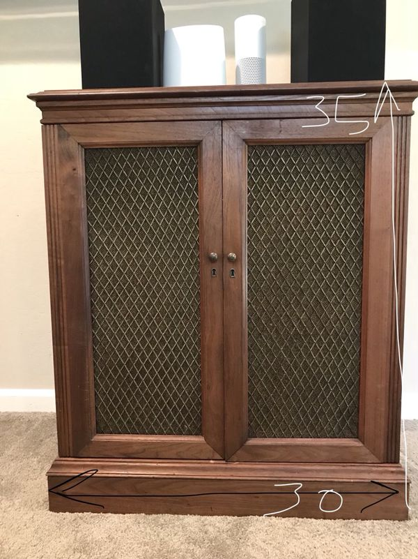 Antique Stereo Cabinet Media Center For In Carmichael Ca Offerup