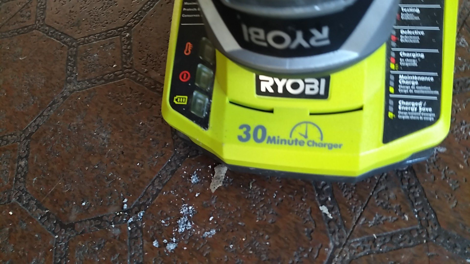 Ryobi hammer drill like new