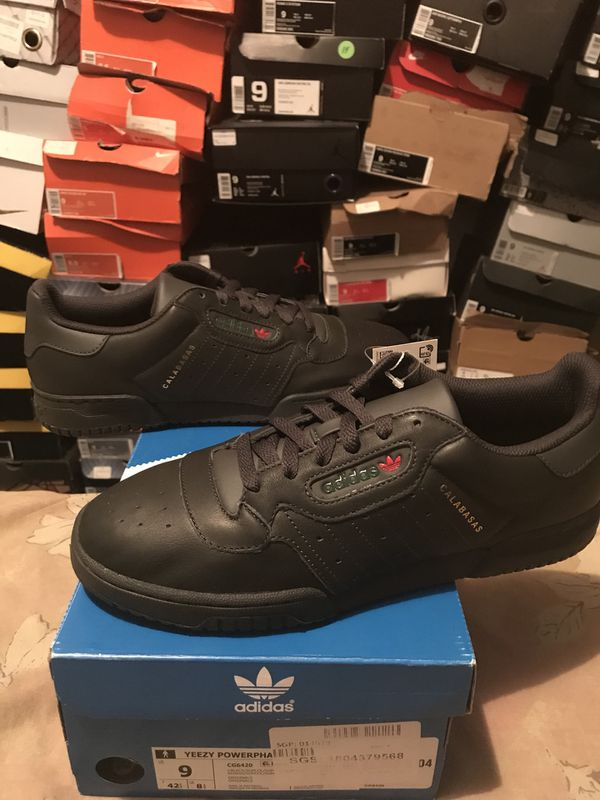 929b3d10a Yeezy powerphase calabasis size 9 and 10 black for Sale in Bronx ...
