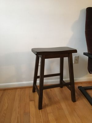 Wood stool for Sale in Washington, DC