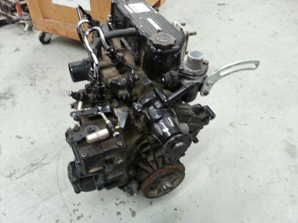 3 cylinder diesel motor l3e mitsubishi for sale in fresno, ca - offerup