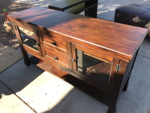 Tv stand console $150 for Sale in Phoenix, AZ