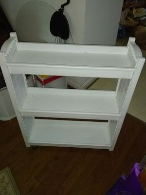 Plastic organizer cart for Sale in undefined