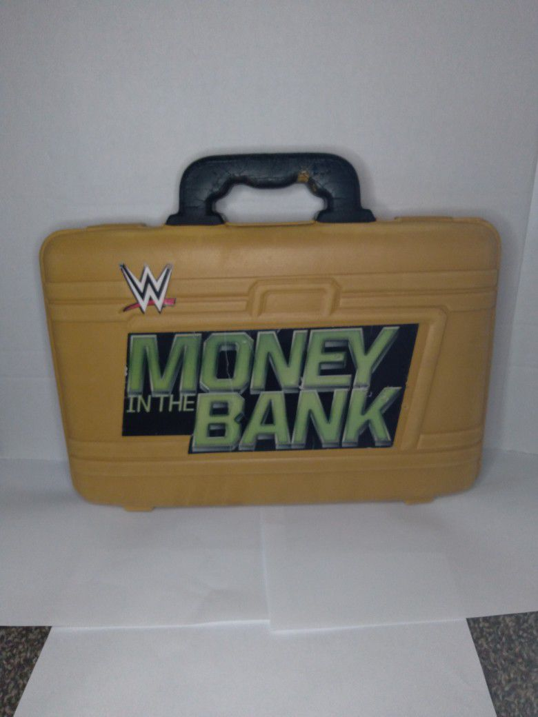 WWE Money In The Bank Briefcase (MORE ITEMS LIKE THIS ON MY PAGE GO CHECK THEM OUT 😉)