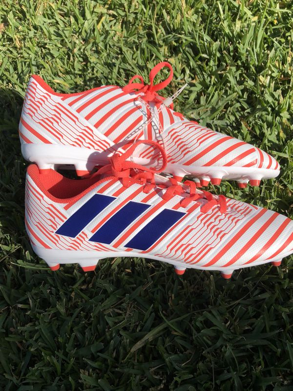 fe8c804c8 Adidas (BY8886) Nemeziz 17.4 FG W Soccer Shoes Women's Size 9 1/2 ...