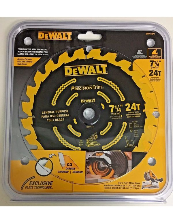 Dewalt 7 1 4 Saw Blade For Sale In Benson Mn Offerup