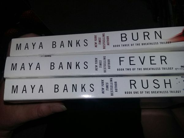 maya banks rush series