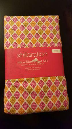 NEW Xhilaration Warm Sheet Set Multicolor -FULL Thumbnail