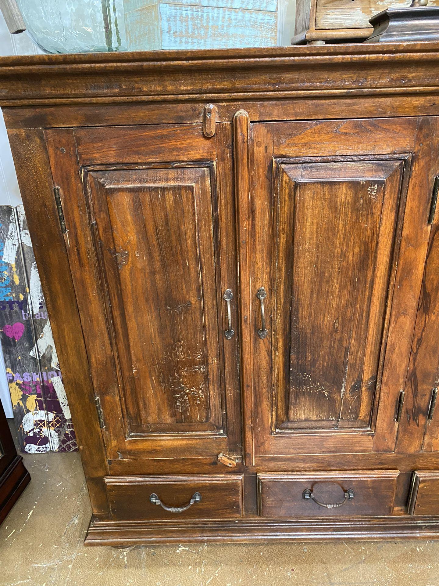Z Gallery Rustic Sideboard Bottom Drawers