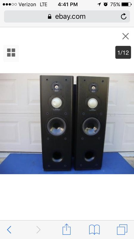 Infinity kappa series 2 original for Sale in Buffalo, NY - OfferUp