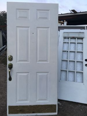 36x80 front door no frame for Sale in Dallas, TX