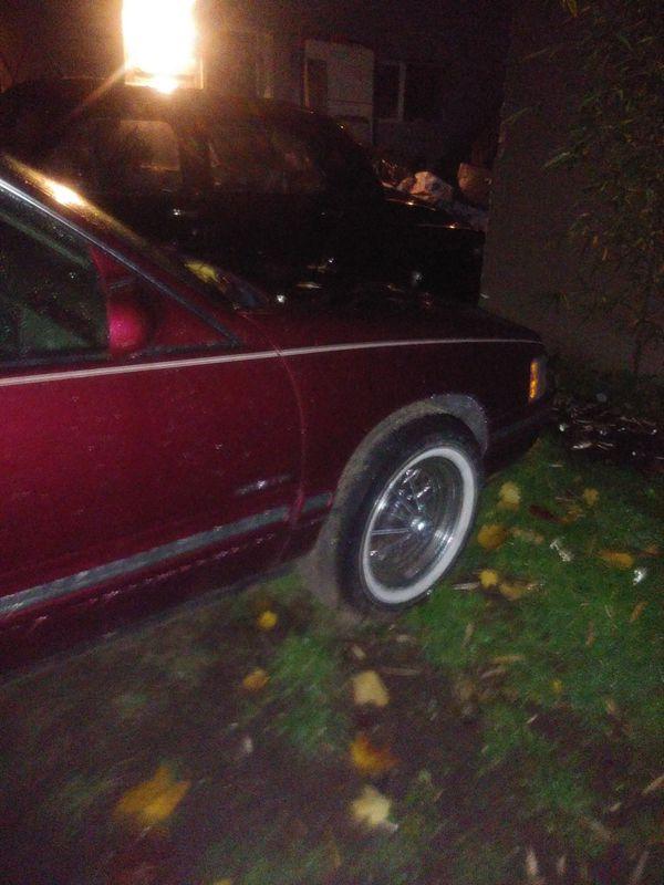 1998 Cadillac Deville 16 Quot Cragar Star Wires 145 000 Miles