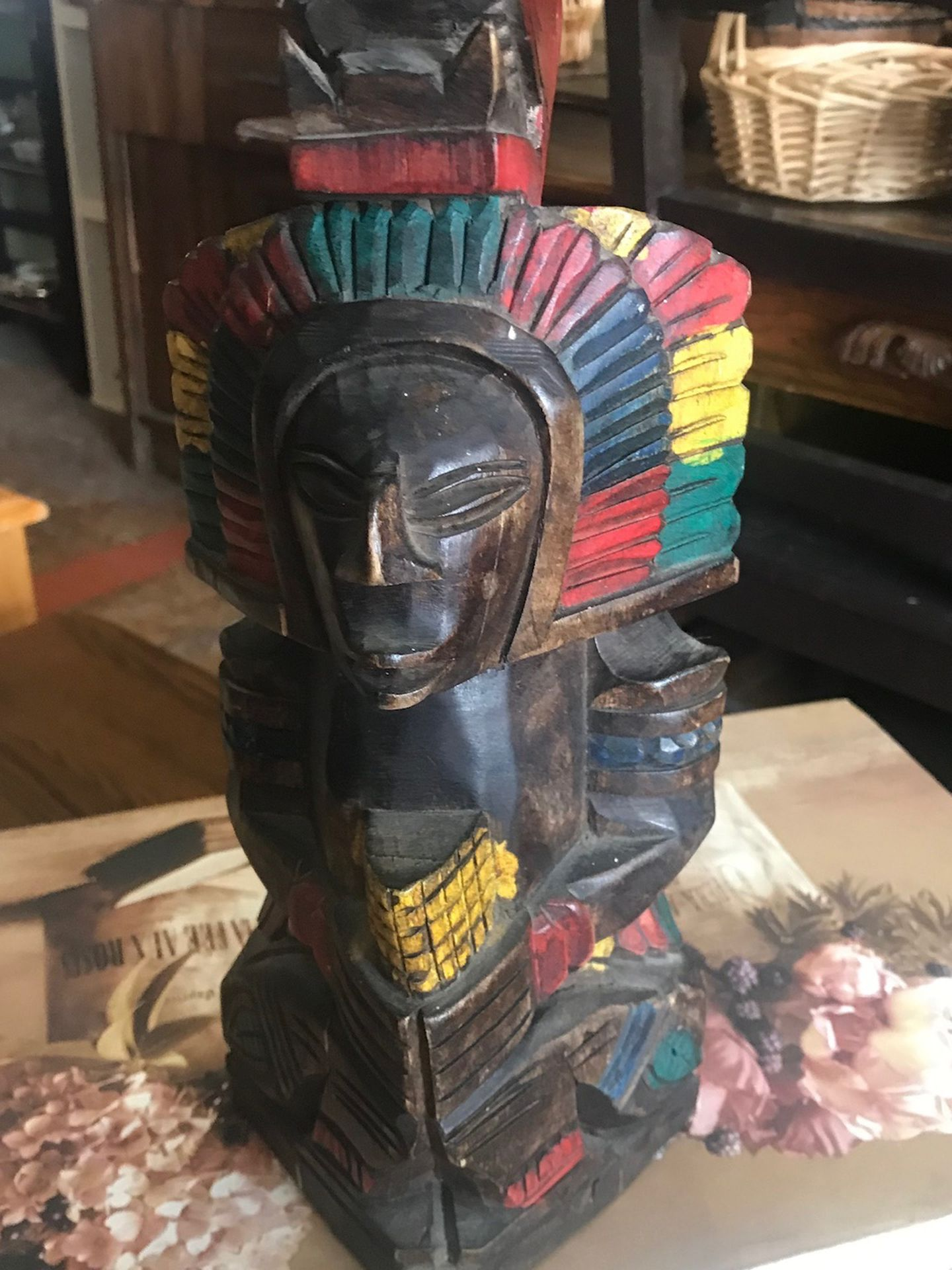 Tiki Ethic Wood Carving Sculpture Open Saturday 12 To 5