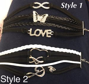 Bracelets with personality! Charm infinity bracelet for Sale in Woodbridge, VA