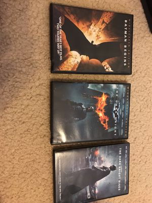 The Entire Batman Trilogy for Sale in Gaithersburg, MD
