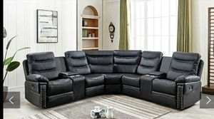 Photo Furniture sectional leather Finance available down payment $291456 North Beltline Road Garland Texas 75044