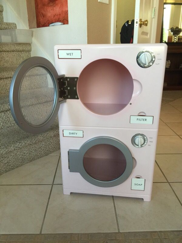 Pottery Barn Kids Play Washer Dryer For