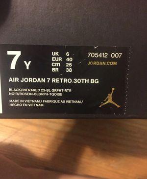 0e1eea0210c Jordan 7 Barcelona Nights 7Y for Sale in Dayton, OH - OfferUp