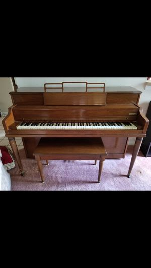 Jansen upright 55 years old. excellent shape just needs tuning 250 or best offer for Sale in Orlando, FL