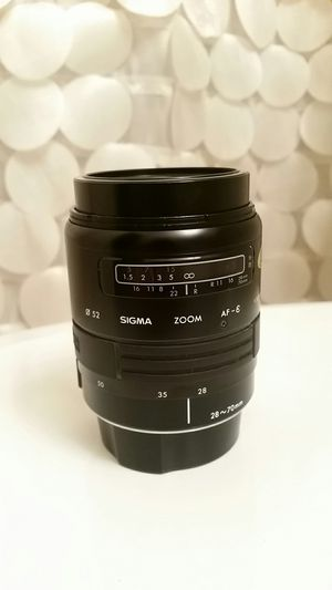 Camera lens Sigma for Canon AF for Sale in Falls Church, VA