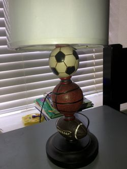night stand with lamp $20 Thumbnail