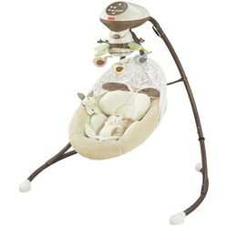 Fisher-Price My Little Snugabunny Cradle and Swing Thumbnail
