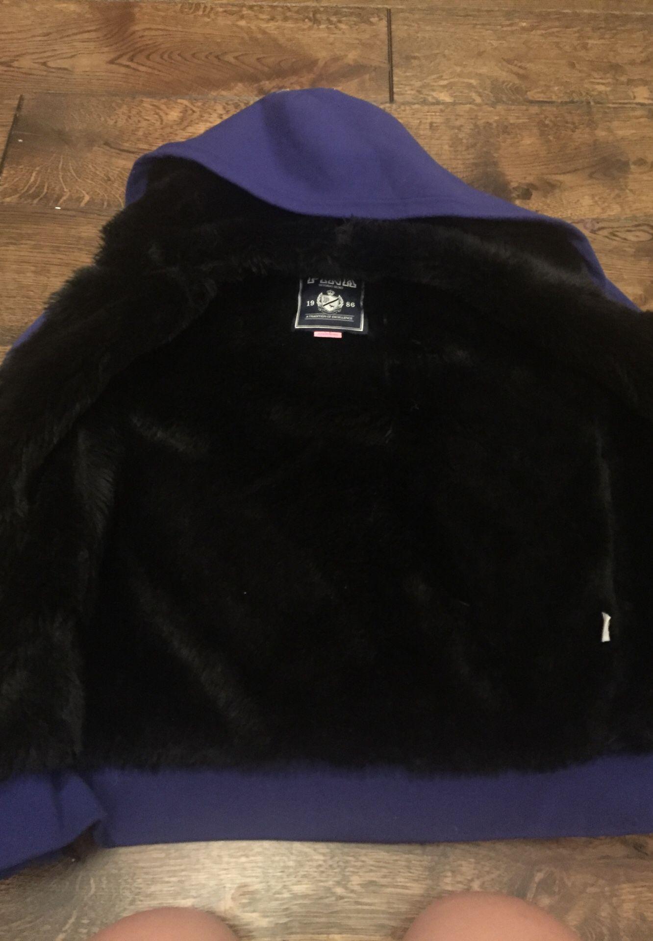 PINK VS fluffy jacket