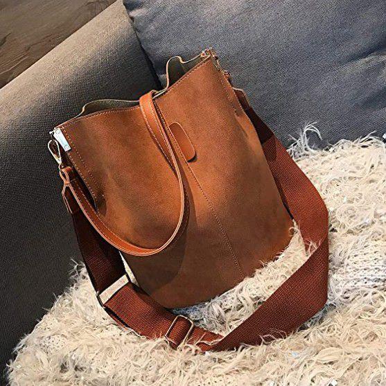 NEW Zoci Bucket Bag - Brown