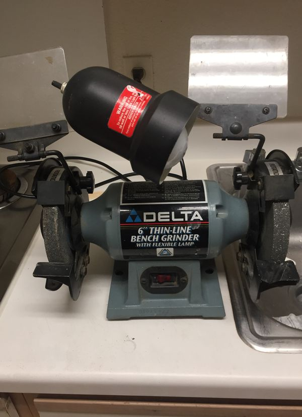 Magnificent Delta 6 Thin Line Bench Grinder W Flex Lamp For Sale In Alphanode Cool Chair Designs And Ideas Alphanodeonline