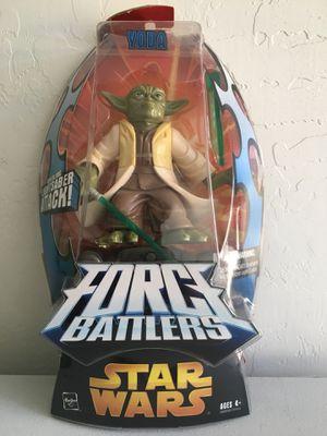 ($3) NEW Star Wars Force Battlers Yoda Figure/ Toy, Hasbro ©️2005 for Sale in Phoenix, AZ