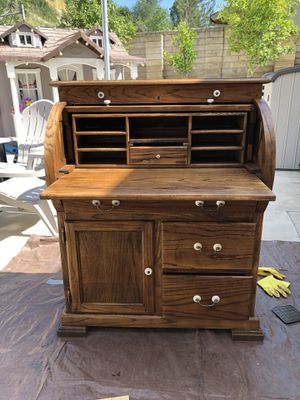Antique Roll Top Desk For In Santa Clarita Ca