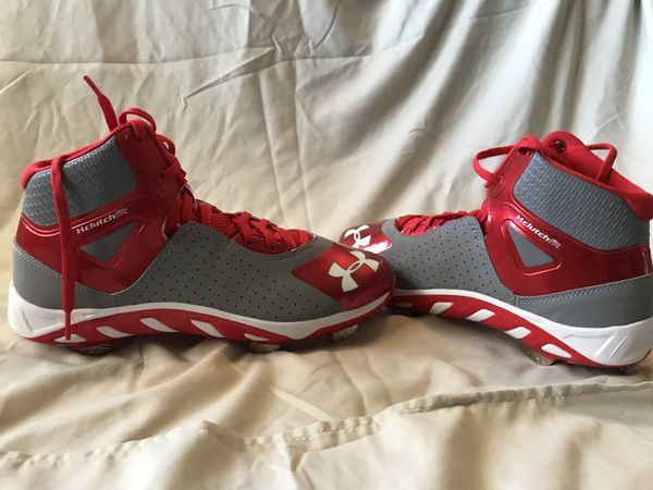 6185e0159187 Under Armour baseball cleats size 8 for Sale in Oklahoma City, OK ...
