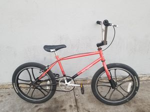 Photo Rallye pro tester with mags oldschool bmx 20 in 3 piece