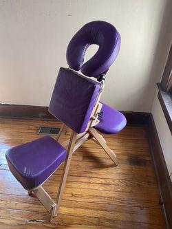 Purple StrongLite Massage Chair Thumbnail