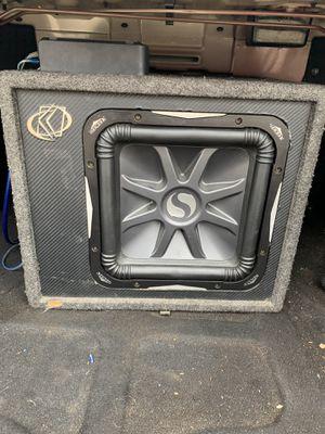 """Photo Kicker L7 12"""" w/ Rockford Fosgate Amplifier"""
