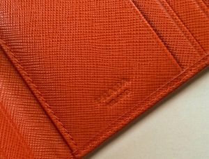 47064ecf932a44 Prada Saffiano Papaya / Orange Trifold Wallet for Sale in Phoenix, AZ -  OfferUp
