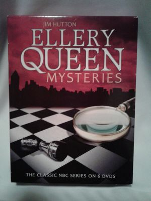 ELLERY QUEEN Mysteries 6 DVD set for Sale in Crosby, TX