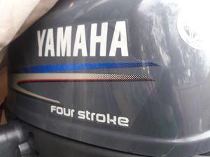 Photo Four Stroke 4HP Yamaha Motor