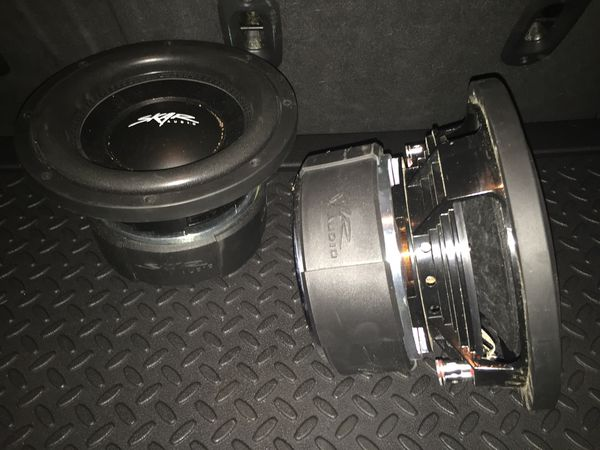2-10 inch SKAR AUDIO SUBS 1,000RMS EACH! for Sale in Tempe, AZ - OfferUp