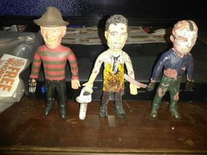 Collectable Rubber horror figurines for Sale in Wilkes-Barre Township, PA