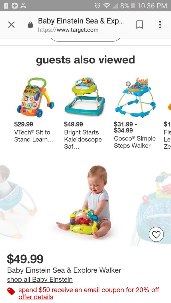 215a390dfab2 Baby Einstein walker for Sale in Compton