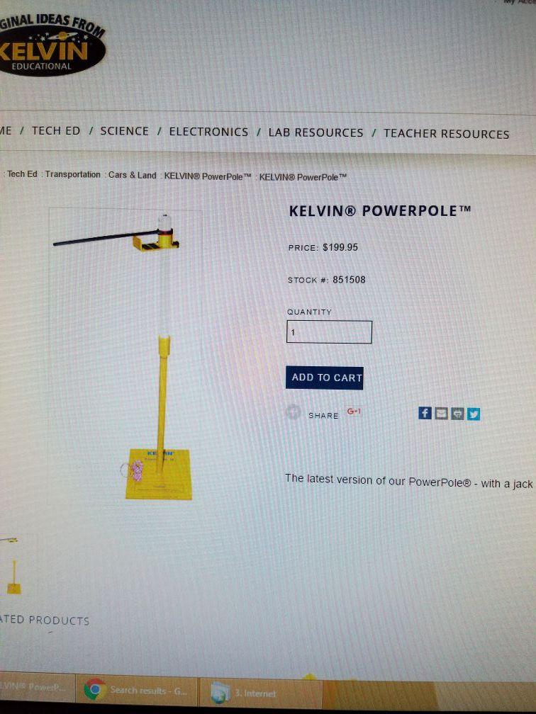 Kelvin Power Pole