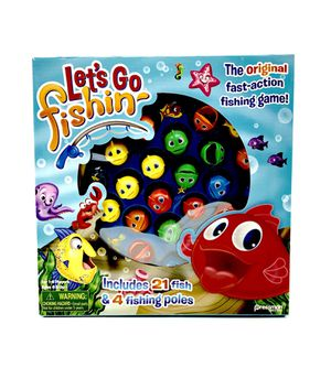 Let's go fishin fishing kids toys family toy Christmas toys fun time for Sale in El Monte, CA