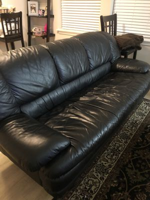 Leather Couch - Perfect Condition for Sale in Falls Church, VA