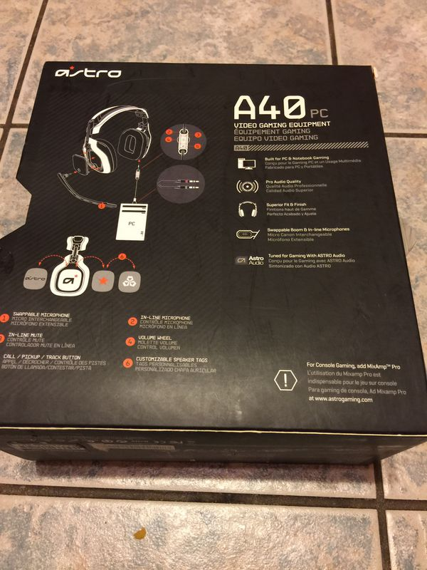 Astro A40 PC video gaming equipment for Sale in Tyler, TX - OfferUp