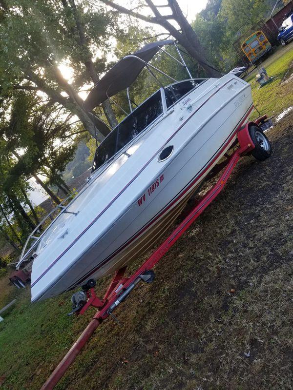 1993 four winns 195 freedom boat w/trailer