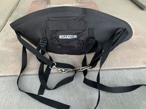 Photo Never used Lifetime Kayak Backrest Seat with Pouch