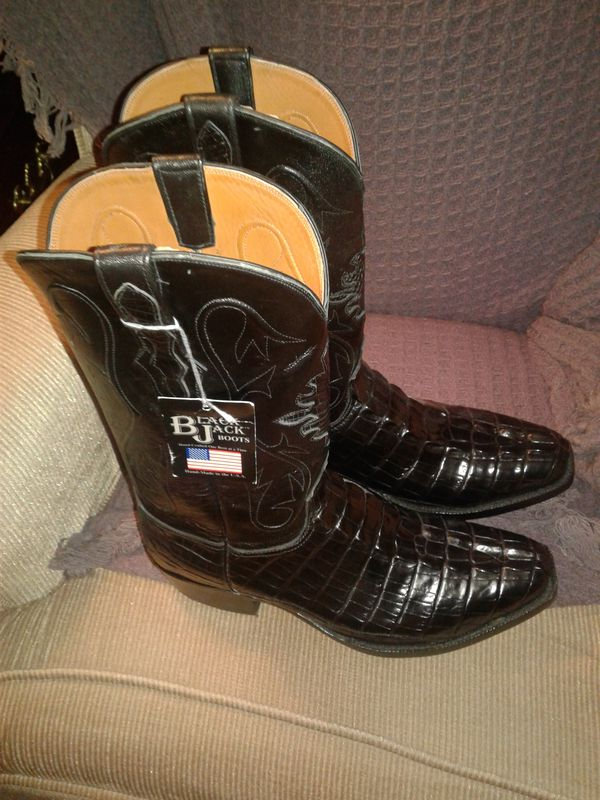 2106122678c BlackJack alligator boots for Sale in Corpus Christi, TX - OfferUp